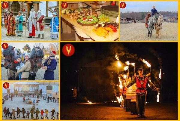Головна резиденція Діда Мороза відкривається у Древньому Києві