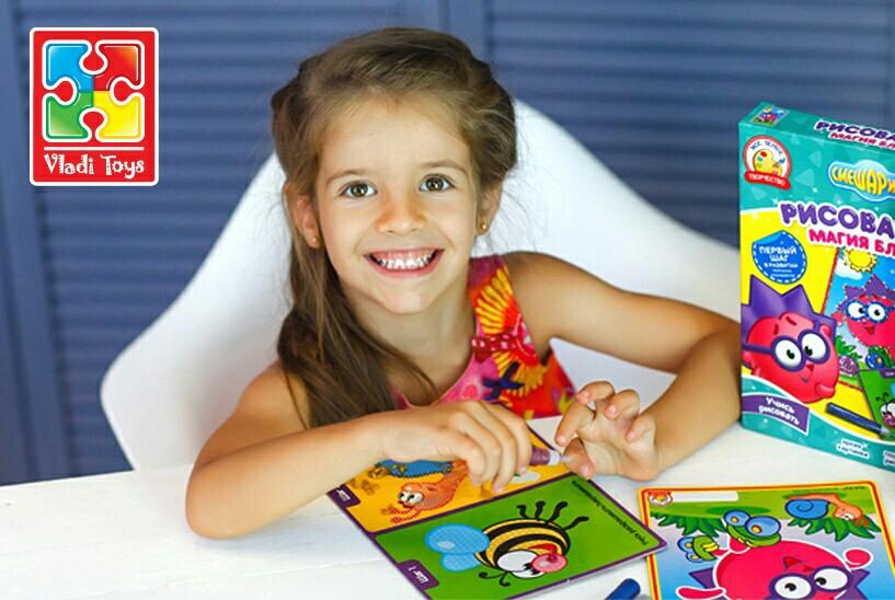 Vladi Toys - творчість для розвитку малюків!