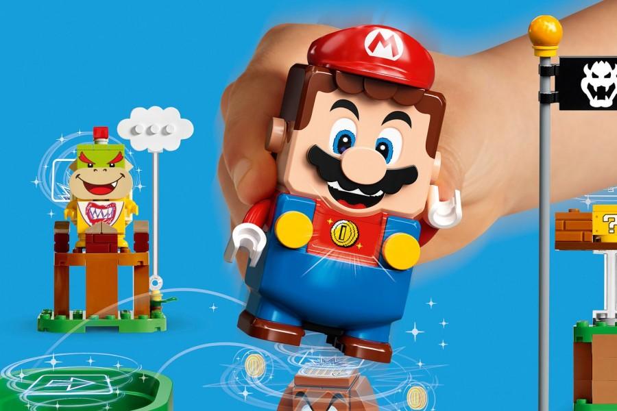 Ностальгія для батьків, новинка для діточок - LEGO Super Mario