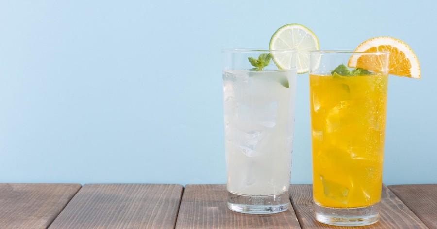 Топ-5 рецептів домашніх лимонадів