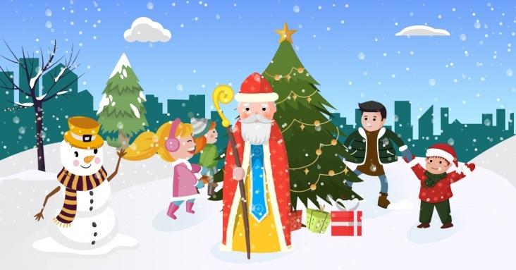 Новорічні та різдвяні вистави, ялинки та шоу в Києві
