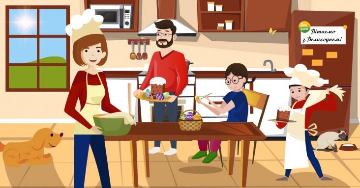 Великодня афіша ідей та онлайн занять для дітей