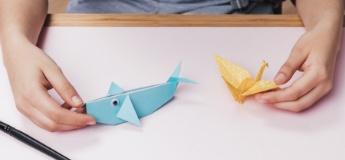 Оригамі для дітей: 10 простих схем для малюків