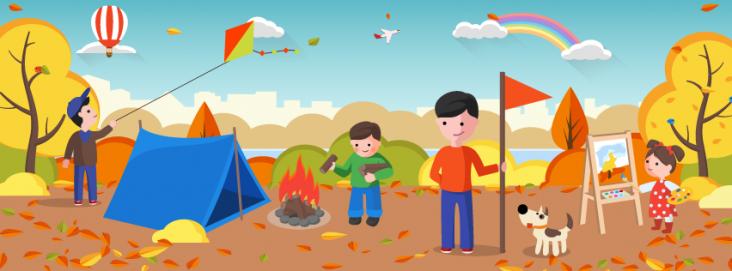 Осінні дитячі табори Львова та Карпат
