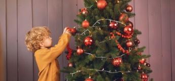 Новорічна ялинка та діти: правила безпеки