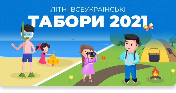 Літні табори у Карпатах та на морському узбережжі 2021