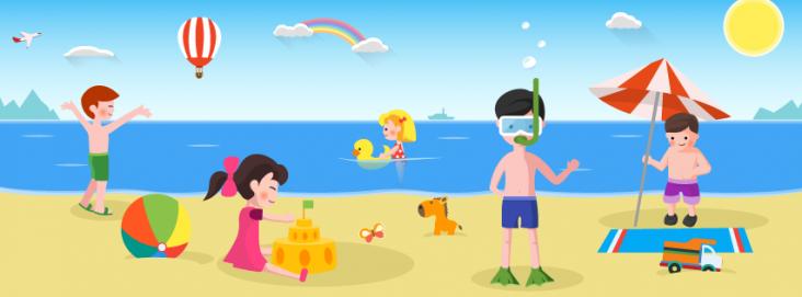 Літні дитячі табори на морі 2017 року