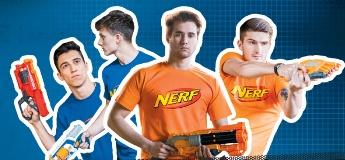 Спортивне свято NERF Прокачка у ТЦ Форум