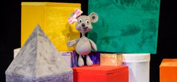 """Вистава """"A Mouse and the pink ribbon або Мишка та рожева стрічка"""""""