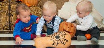 Хеллоуин для малышей до 3 лет