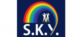 Радужное открытие детского центра SKY