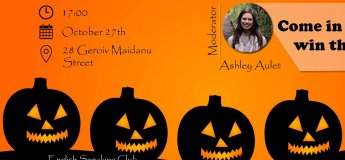 English Speaking Club: Halloween party