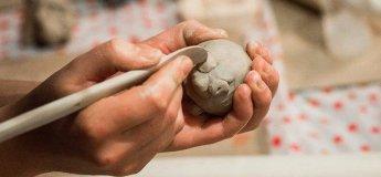 Ліпка з глини для дітей