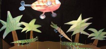 Дитяча творча майстерня «Мій театр на і під столом»
