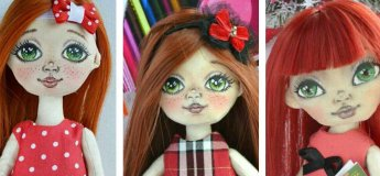 "Мастер-класс ""Создаем текстильную куклу Милашку"""