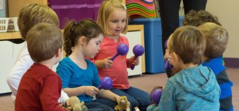 Орф-заняття в дитячому садочку