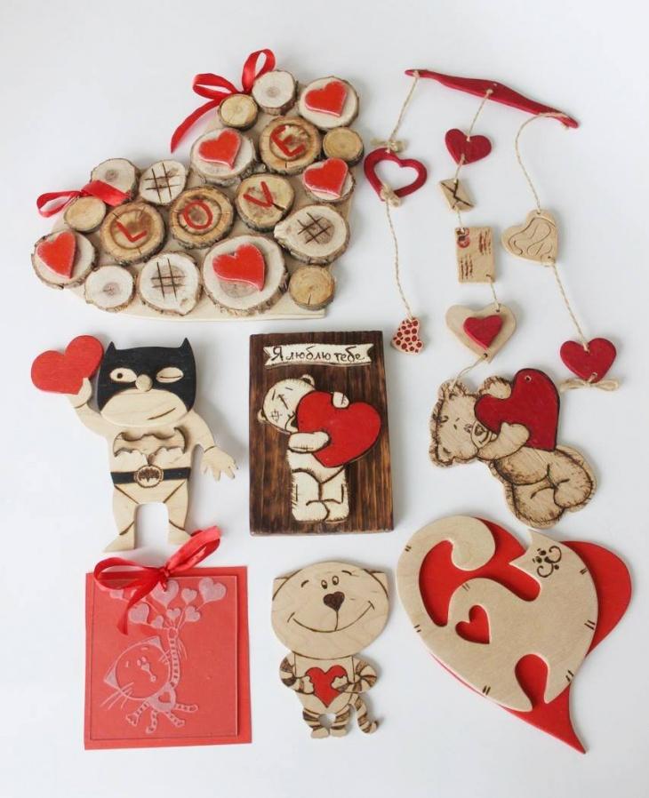Майстер-класи до Дня святого Валентина