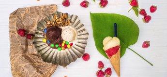 Відкриття першого справжнього кафе з морозивом Умка