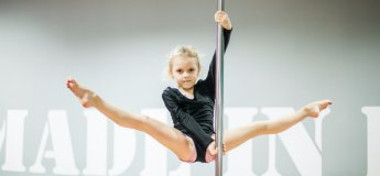 Pole Dance Junior у Ківі Фітнес
