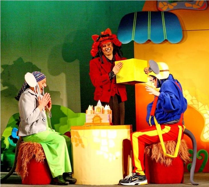 «День народження Кота Леопольда» - Музична казка для дітей