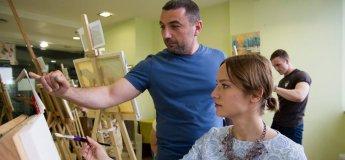 Заняття з живопису для батьків